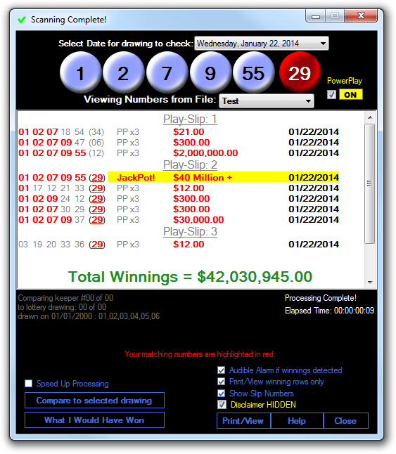Learn how to win the lottery and print your play-slips with the best free lottery picker software around.