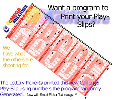 photo print mega millions play-slip